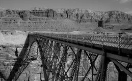 The iron bridge over Colorado river Stock Images