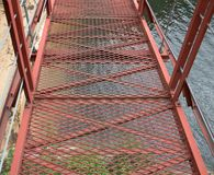 Iron bridge Stock Images