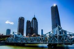Iron bridge Stock Photo