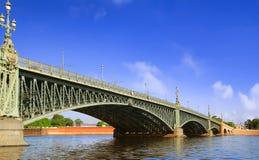 Iron bridge Royalty Free Stock Images
