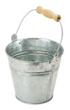 Iron bucket isolated on the white background Stock Photo