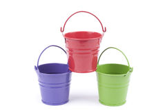 Iron bucket Royalty Free Stock Photo