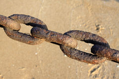 Iron chain Stock Photos