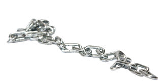 Iron chain Royalty Free Stock Photos