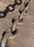 Iron chain Stock Images