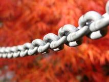 Iron chain.  royalty free stock photos