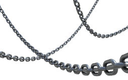 Iron Chain II Royalty Free Stock Photos