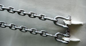 Iron chain Stock Photo
