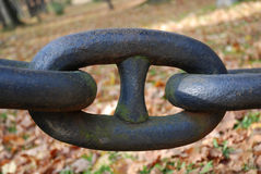 The iron chains Stock Images