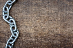 Iron chains Royalty Free Stock Images
