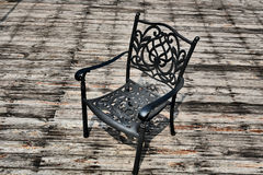 Iron chair Royalty Free Stock Images