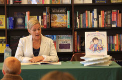 Iron Chef Cat Cora Book Signing Stock Photo