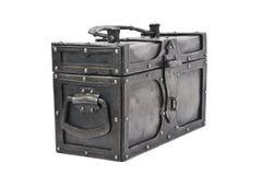 Iron chest Stock Image