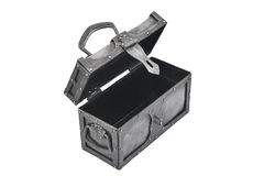 Iron chest Royalty Free Stock Image