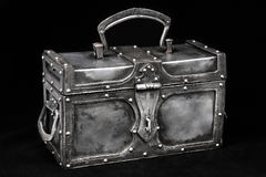 Iron chest Royalty Free Stock Photography