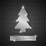 Iron Christmas tree Royalty Free Stock Photo