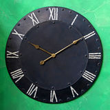 Iron clock Royalty Free Stock Photography
