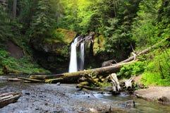 Iron creek water falls Royalty Free Stock Image