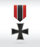 Iron cross war medal Stock Photography