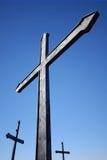 Iron crosses Stock Image
