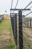Iron curtain in cizov Stock Images
