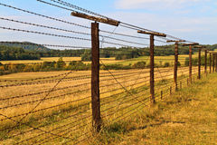 Iron Curtain Remains Royalty Free Stock Photo