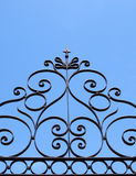 Iron decoration Stock Photo