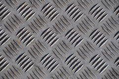 Iron diamond plate Royalty Free Stock Image