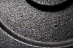 Iron disk background Stock Photos