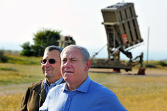 Iron Dome batterie Stock Photos