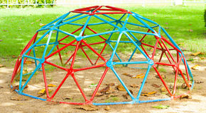 Iron Dome in the playground.  Royalty Free Stock Image