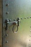 Iron door Stock Photo