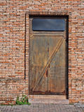 Iron door Royalty Free Stock Photos