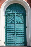Iron door of exaltation of the Cross cathedral Stock Photo