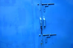 Iron door Stock Image