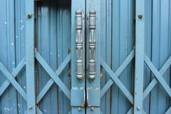 The iron door Royalty Free Stock Photo