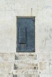 Iron Door on Stairway Stock Photography
