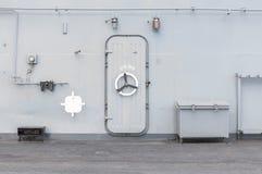 Iron door warship Royalty Free Stock Photo