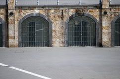 Iron doors Royalty Free Stock Image