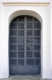 Iron doors in Stock Photo