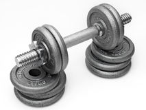 Iron Dumbbell Stock Photography