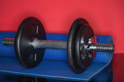 Iron dumbbell Workout Royalty Free Stock Images