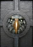 Iron eagel - door ornament Royalty Free Stock Photography