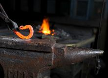 Iron element Stock Photo