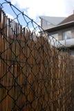 Iron fence. Royalty Free Stock Photography