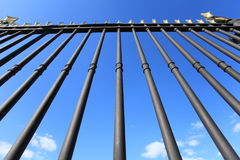 Iron fence Royalty Free Stock Photography