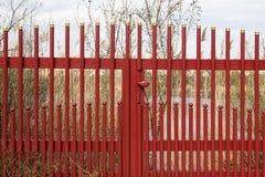 Iron fence Stock Photography