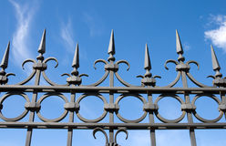 Iron fence Royalty Free Stock Photos