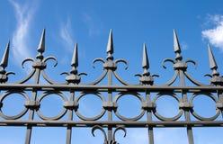 Iron fence Royalty Free Stock Photos