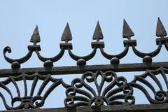 Iron fence. In Charleston South Carolina Stock Images
